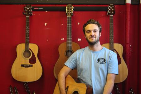 Teacher Highlight: Multi-Instrumentalist Colin Sharp