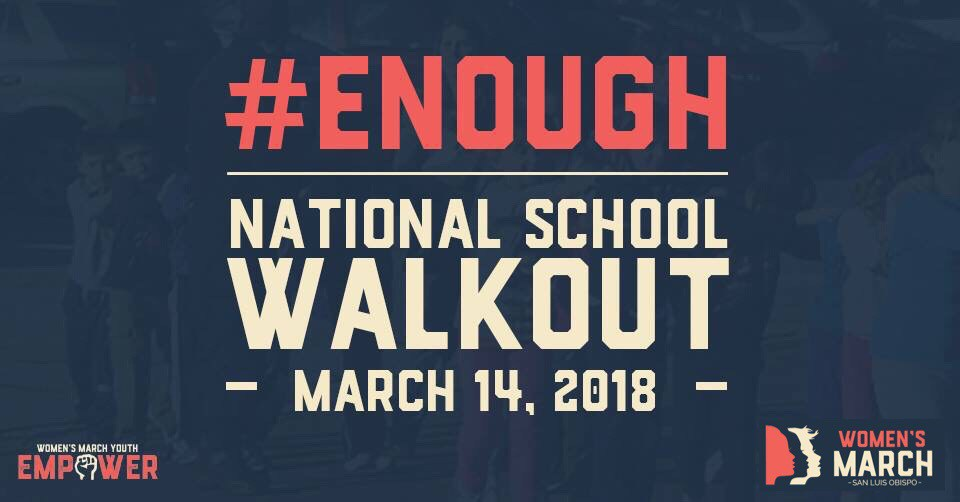 FLC joins schools around the nation in a walkout March 14