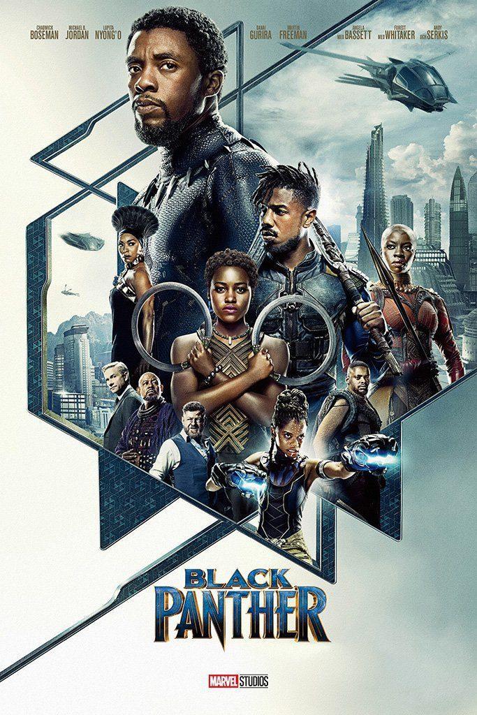 Promotional poster, from Marvel's Black Panther · Marvel Studios