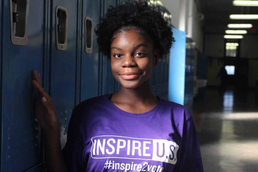 FLC Junior, Phedora Jean-Philippe , is a proud member of the Inspire U.S.