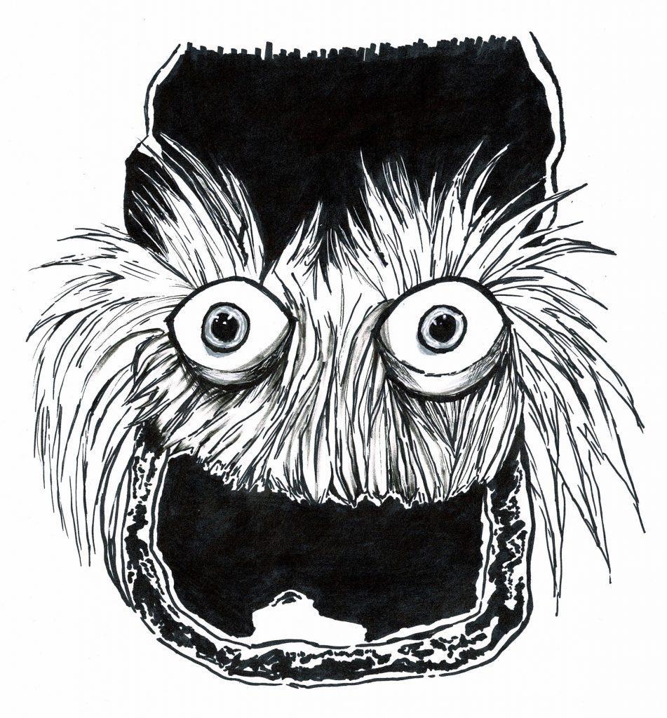 An Illustration of Gritty by Staff Illustrator Elijah J. Collins.