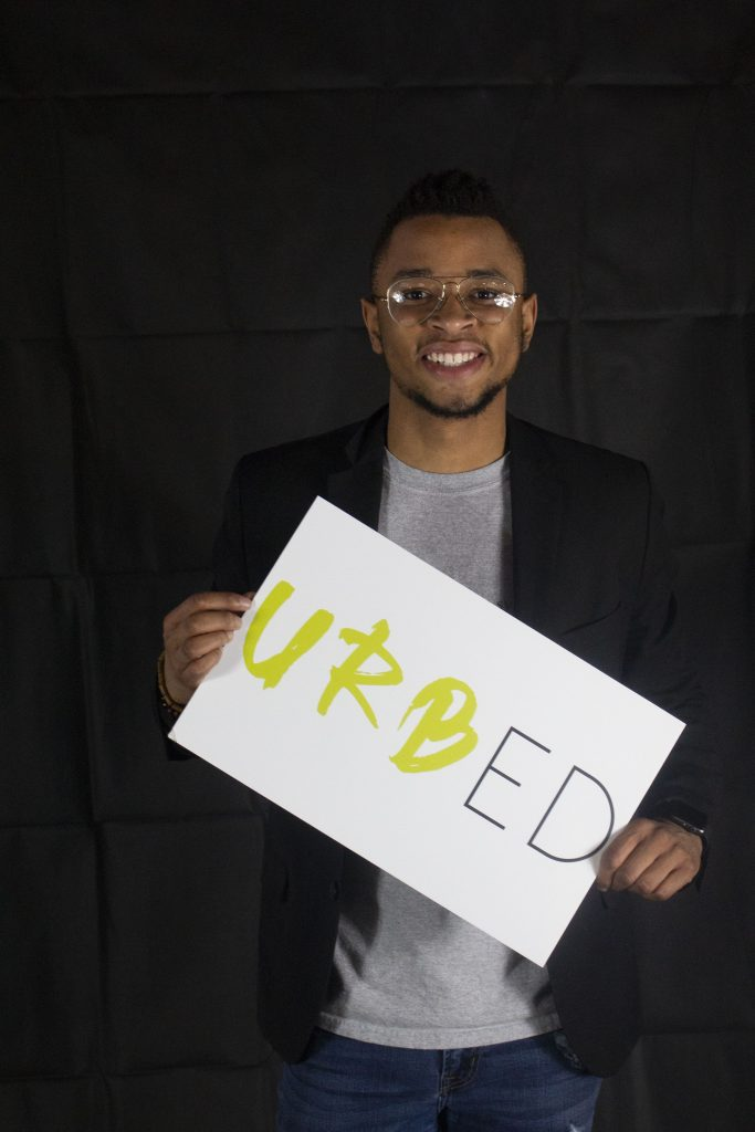 Tamir Harper, co-founder of UrbEd, is on a mission to improve public schools for urban students · Photo courtesy of UrbED