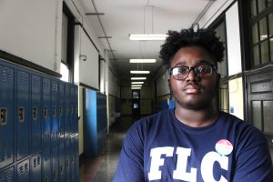 Student Jahiem Brumfield voted in the 2019 Municipal General Election on November 5. · Tiffany Rodriguez / STAFF