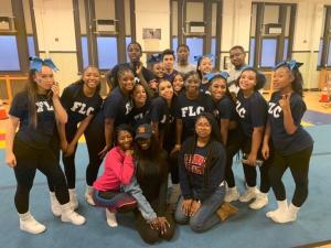 Ninth grade cheerleaders reveal the prep behind their pep