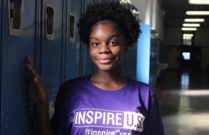 Sophia Cissé won first place from CSPA with this portrait of Phedora Jean-Phillipe