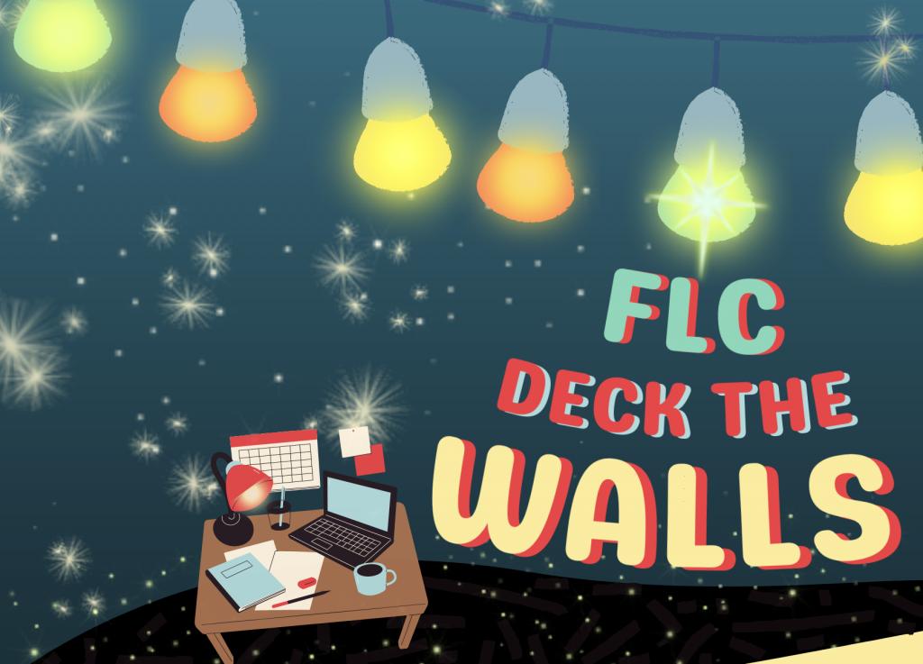 Deck the Walls decorating event